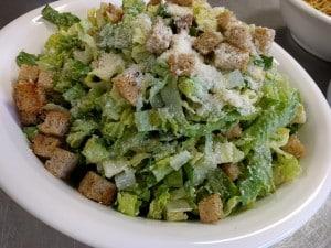 Caesar Salad at dinner